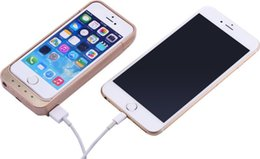 Wholesale Iphone5 Power Cases - Power Cases For iPhone 5C 5S SE External Battery Case 4200mAh Cellphone Backup Charger with USB For iPhone5 5s In Stock UPS Free