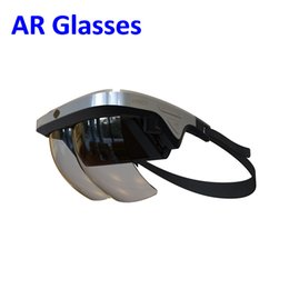 Wholesale Glasses Virtual Games - 2017 New Design Smart AR Glasses 3D Video Virtual Reality VR Glasses AR Headset for 3D Videos and 3D Games