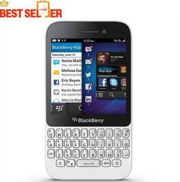Ежевика q5 онлайн-Оригинальный Blackberry Q5 3G 4G мобильный телефон 5.0 MP двухъядерный 2GB RAM 8GB ROM разблокирован Blackberry мобильный телефон