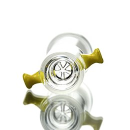 Wholesale Female Parts - 14mm 18mm Female Bowl Thick Glass Water Pipe Parts Joint Glass Bowl Nail Dome Accessories Smoking YX05-16