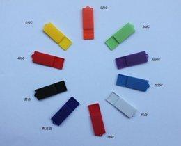 Wholesale Usb Drive 1gb Logo - Paper Clip Custom Mini USB Flash Drive with with OEM Logo 512mb 1gb 2gb 4gb 8gb 16gb 32gb 64gb
