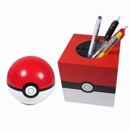 Wholesale Pokemon Coins - Poke Ball Coin Box saving pot Figure Poke Ball Mega Model Classic Anime Action Figures Toys 11CM kids toy free shipping in stock