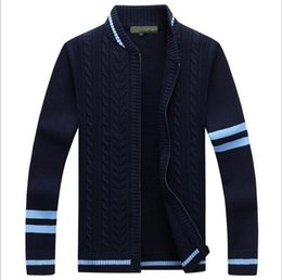 Wholesale Snowflake Cardigan Women - sweater Winter new pullover Snowflake pattern Men 's leisure cardigan Fashion collar Male Thickening Wool jacket men women polo coats