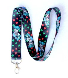 Wholesale Popular Children Toys - Cartoon 10 pcs Popular Joker Lanyard Key Chains Pendant Children Toy Gifts Party Favors SM-24
