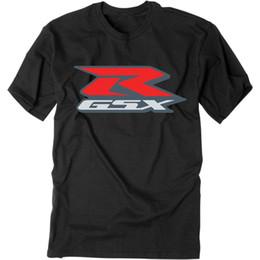 Wholesale Race Gsxr - 2016 Black Moto GP T-shirt GSXR 600 750 1100 1400 Team Racing Sport Motorcycle Rider Bike shirt S-XXL