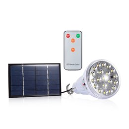 Wholesale Solar Lights Sale - Top Sale Outdoor Dimmable DC 6V 20 Led Remote Control Solar Light Led Light Outdoor Garden Decoration Solar Lamp 1W Solar Panel