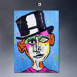 Wholesale Thomas Kinkade Giclee Prints - PICASO monopoly wall street art canvas print POP ART Giclee poster print on canvas for wall painting thomas kinkade