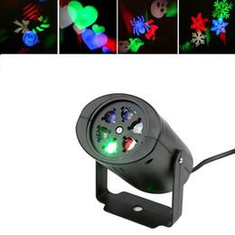 nubi paesaggistica Sconti Proiettore laser Lampade LED Stage Light Heart Snow Christmas Party Landscape Light Lampada da giardino Illuminazione per esterni C3159