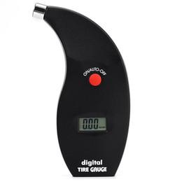 Wholesale Tire Gauge Bar Pressure - Wholesale-VT801 Car LCD PSI KPA BAR Digital Tire Pressure Gauge Manometer Tester
