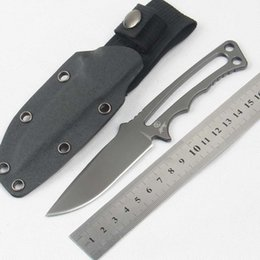 Wholesale Knives S35vn Steel - Hot Chris Reeve Professional soldier Fixed Blade Knife Pocket Camping Knife With S35VN CPM Steel Combat Tactical Survival Knives EDC Outdoo