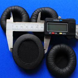 Wholesale Cushion Ear Pad - Wholesale 1 pair 60mm Leatherette Ear Cushions Ear Pad Replacement headset ear cushion pads 6cm