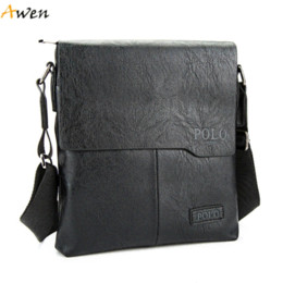 Wholesale Thread For Sewing Bags - Awen - Fashionable Embossed Male Leather Messenger Bag,Sewing Thread Design Cover Open Shoulder Bag For Men,Men's Crossbody Bags