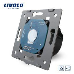 Wholesale Livolo Touch Glass - Wholesale-Livolo EU Standard ,1Gang 2 Way, Touch Remote Switch Without Glass Panel, 110v~250V + LED Indicator ,VL-C701SR