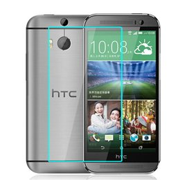 Wholesale M7 Screen Protectors - Tempered Glass Screen Protecter for HTC M7 M8 M9 M9+ MAX Glass Protector for HTC Mobile Phone Anti-scratch