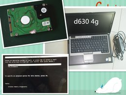 Wholesale computer diagnostic - auto diagnostic laptop D630 computer with hdd super can works for mb star c4  sd c5 for b mw icom