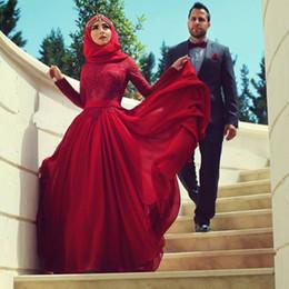 Wholesale Trumpet Bowknot - 2015 Elegant Prom Dresses Musilin Saudi Arabic A-line Chiffon Floor length with veils Back bowknot Dresses Dhyz