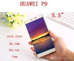 Wholesale Russian Mobile Phones - New 2016 Huawei P9 Max Clone Octa core 4G phone 2Gram 16G rom Mobile Phone unlocked Dual sim card Fake 4g GPS android 6.0 5.5 inch phones