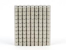 Seltene starke magneten neodym online-Großverkauf - Auf Lager 500pcs starke runde NdFeB Magneten Dia 2x2mm N35 Seltene Erde Neodym Permanent Craft / DIY Magnet Freies Verschiffen