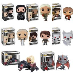 Wholesale Keychain Rings Styles - 7 Style Funko POP Game of Thrones Jon Snow Pocket Keychain Key Ring Hanger A Song of Ice and Fire D.C Who Deadpool