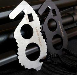 E-45 2016 EDC Deux couteaux de corde de coupe de doigt multifonctionnel outil de combinaison de voiture Seat ceinture Cutter Rope Tape Strike outil d'auto-défense ? partir de fabricateur