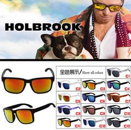 Wholesale Sunglasses Outdoors - summer 13colors options Fashion Sunglasses Women Sports Sun glasses Holbrook men brand Designer outdoors Glasses UV400 FREE SHIPPING