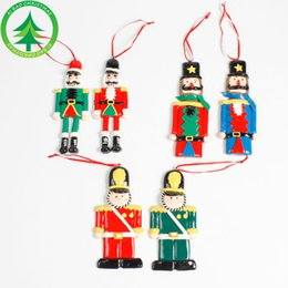 Wholesale Pottery Decorations - The new Christmas decorations The nutcracker Puppets of soft pottery soldiers A variety of sizes Small tin soldier decorated hanging piece