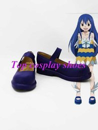 Wholesale Wendy Marvell Cosplay - Wholesale-Freeshipping custom-made anime Fairy Tail Wendy Marvell Cosplay Shoes boots #GAI023