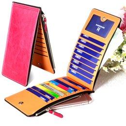 Wholesale Cheap Passport - Wholesale New Fashion Double zippers Women Wallets Cheap Luxury Ladies Pu Leather Wallet Lady's Long Purse Woman Card Holders Gift