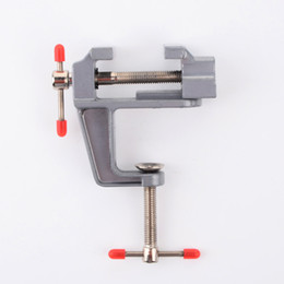 Wholesale Bench Tools - 3x Aluminum Miniature Small Jewelers Hobby Clamp On Table Bench Vise Tool hot sale good popular