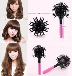 Wholesale New Magic Hair - Wholesale- New 2017 Magic Round Hair Extension Brushes Comb Salon Styling Detangling Hairbrush