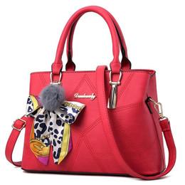 Wholesale Ladies Fashion Shoulder Hand Bags - Ladies Handbags Shoulder Bag Fashion Famous Brand Simple Designer Hand Messenger Bag Package Girl High Capacity Female Totes Women