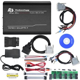Wholesale Galletto Usb - 10pcs lot FG tech V54 Galletto 4 ECU Chip Tunning Tool V54 BDM Adapters fast shipping