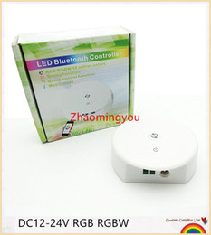 Wholesale Led Apply - YON Free shipping DC12-24V RGB RGBW Bluetooth LED Controller,Timing Function, Group Control, Music Mode, apply to IOS Android