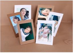 "Wholesale Photo Frames For Walls - Table Paper Photo Frames 5"" 6"" 7"" Picture Frame For Wall Decoration Home Decoration Craft & White, 10pcs Set:"