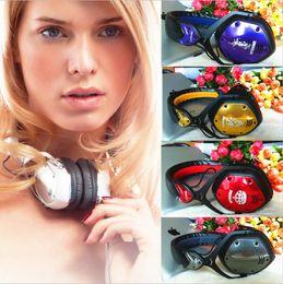 Wholesale Dj Headphones Headsets Over Ear - Fashion Vmoda crossfade LP headset Over Ear Noise Cancelling DJ monitor Bass metal Music Headphone for iPhone
