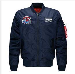 Wholesale Military Style Outerwear Men - Coat jacket men Cotton Windbreaker Long styles Outerwear military Brand clothing Jaquetas Mens jackets and coats men women jacket