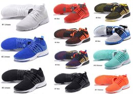 Wholesale Black Light Overlays - New Sportswear Presto Ultra Sneakers Mid Classic Cage Overlay Sock-like Ankle Men Women Youth Royal-blue Teal All-white Black Running Shoes