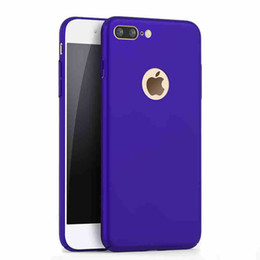 Wholesale Apple Matting - 360 Degrees Fully Edge-coating matting hard Case for iphone7 7plus