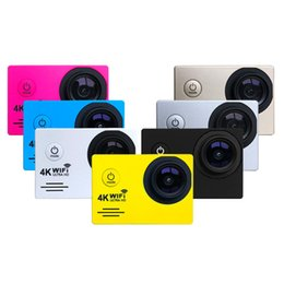 Wholesale Wholesale Marine Electronics - Action Camera Wifi 2 inch 1080p FULL HD DV recorder marine diving 30M waterproof sports Camera H17