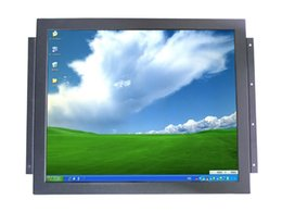 Wholesale Build Lcd Monitor - 17 inch SAW Touchscreen TFT-LCD All in One PC Monitor, Computer Car TV Monitor, POS terminal,industrial control monitor KSF-170D