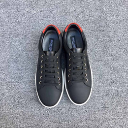 Wholesale Day White 38 - Raf Simons Stan Smith Spring Copper White Black Fashion Shoe Man Casual Leather brand man shoes Flats Sneakers size: 38-44 US:4-10.