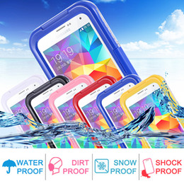 Wholesale Galaxy S4 Cover Cool - S5 S4 S3 Waterproof Cool Transparent Case For Samsung Galaxy S3 S4 S5 Case Plastic Phone Cover Coque Sports Swimming Candy Capa