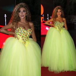 Wholesale Lace Top Peplum Dress - 2015 Myriam Fares Arabic Celebrity Dresses Sweetheart Beaded Collar Over Skirts Tassel Top Light Green Train Long Evening Dresses