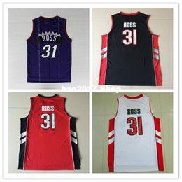 Wholesale Ross Shipping - New Free Shipping 31 Terrence Ross Purple White Red Black Rev 30 Basketball Jerseys,Size:S-XXL