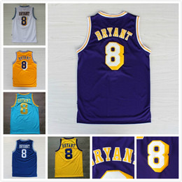 Wholesale Cheap Army Men - wholesale cheap top quality High Quality Basketball Jersey, Men's #8 kobe 24 bryant Throwback Basketball Jersey Stitched Logos All Style