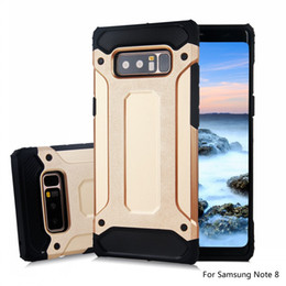 Wholesale Armor Pc Case - For samsung note8 S8 S8+ S7 edge S6 J7 J5 J3 iphone X 8 7 plus 6S Steel armor TPU+PC cell phone cases