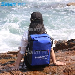 Wholesale Wholesale Camping Backpacks - Dry Bag Backpack 25L - Dry Backpack is Guaranteed Waterproof - Wear it as a Waterproof Backpack or Over the Shoulder for Kayaking, Hiking