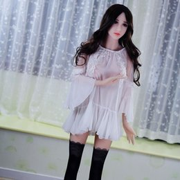 Wholesale Love Shops Dolls - 165cm japanese real doll,pure silicone vagina and breast,real human doll,metal skeleton love doll,adult products sex shop,3-holes mannequins