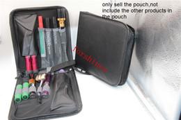 Wholesale Electronic Cigarette Flavor Kits - 10PCS Mod Case Vape Zipper Case eGo starter kits Case Mod Holder Vape Holder electronic cigarette vapor bags e-juice flavor bottles bags new