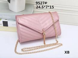 Wholesale Famous Message - Fashion women message bag lady PU leather handbag famous Designer brand bags purse shoulder tote Bag female 9527